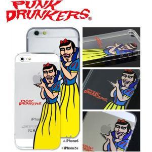 PUNK DRUNKERS(パンクドランカーズ) あいつ姫 iPhone ケース カバー TREST(トレスト)  iPhone5 /5S iPhone6 fatmoes