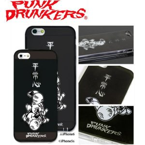 PUNK DRUNKERS(パンクドランカーズ) 平常心 iPhone ケース カバー TREST(トレスト)  iPhone5 /5S iPhone6 fatmoes