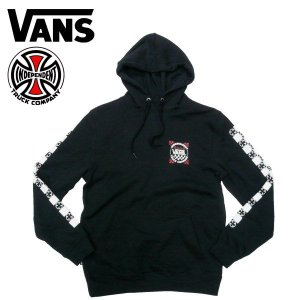 VANS(バンズ)×INDEPENDENT(インディペンデント) コラボ スウェットパーカー ヴァンズ VANS OFF THE WALL|fatmoes