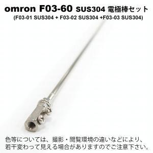 即納 オムロン F03-60 SUS304 ELECTRODE (SET)