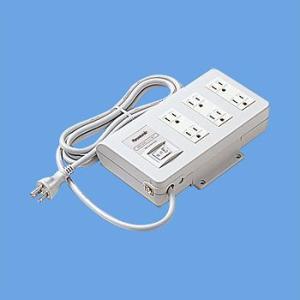 即納 パナソニック WCH44129  OA電源タップ 接地形 本体スイッチ付 faubon