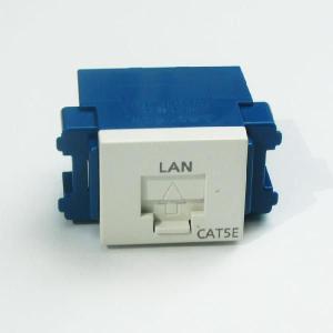 即納 パナソニック NR3160W 情報配線部材・LAN機器 ぐっとすシリーズ 情報モジュラジャック(CAT5E 埋込型)|faubon