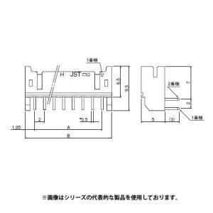 即納 S10B-PHDSS(LF)(SN) 日本圧着端子・JST 接続コネクタ PHDコネクタ 定格電流 3A 250V ピッチ2.0mm ベース付きポストサイド型