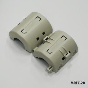 ローカットフェライトクランプ MRFCシリーズ 低周波フェライトクランプ  電源系の低周波ノイズ(1...