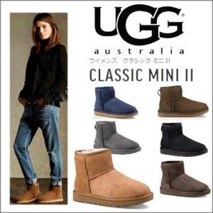 UGG ブーツ ミニ2 レディース アグブーツ クラシック ミニ2 1016222 オーストラリア UGG レディース ムートンブーツ CLASSIC MINI 2|faunfactory