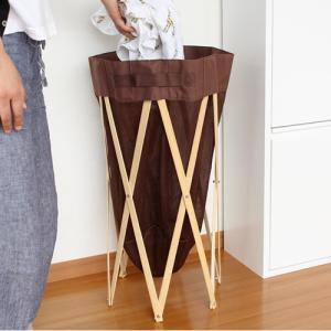 【取扱終了】ランドリーバスケット 折りたたみ ランドリーバッグ  洗濯カゴ バンブー  Expander|favoritestyle