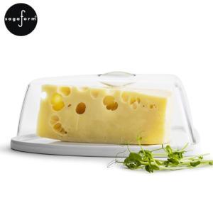 [クーポン配布中] チーズドーム ケーキドーム トライアングル 白 ホワイト アクリル 陶器 保存容器 サガフォルム sagaform 北欧 デザイン おしゃれ|favoritestyle