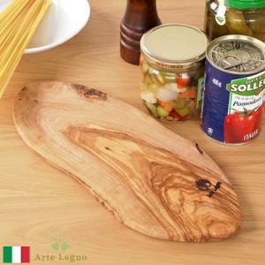 カッティングボード オリーブ まな板 木製 ルスティックカッティングボードスモール アルテレニョ Arte Legno サービングボード