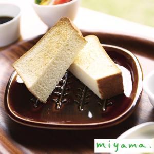 miyama ミヤマ crust クラスト パン皿 飴釉 小枝柄 ドット柄 美濃焼|favoritestyle