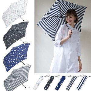 折りたたみ傘 レディース 超軽量 軽い スーパーライト ミニ スリム かわいい 傘 because ビコーズ レイングッズ favoritestyle