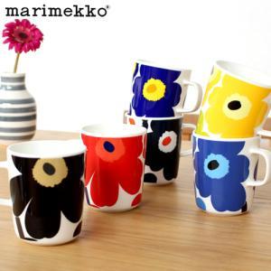 マリメッコ ウニッコ マグカップ 250ml 花柄 marimekko Unikko 取っ手付き コップ