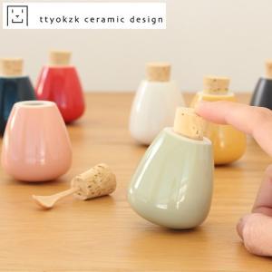 スパイスケース 調味料入れ タツヤオカザキ セラミックデザイン スウィング swing ttyokzk ceramic design 卓上 食卓 岡崎達也 日本製|favoritestyle