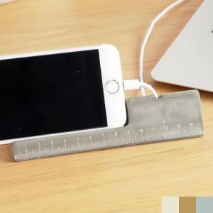 スマホスタンド 名刺立て 木製 コンクリート製 卓上 スマホホルダー iPhone 充電 名刺ホルダー 名刺スタンド カード立て おしゃれ|favoritestyle