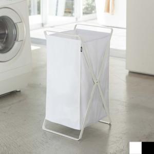 ●大容量約45?のシンプルでスタイリッシュなランドリーバッグ。洗濯ものをたっぷり収納できます。 ●折...