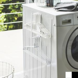 マグネット洗濯ハンガー収納フック S tower タワー 山崎実業 洗濯機横 洗濯ハンガー 収納 洗濯機 収納|favoritestyle
