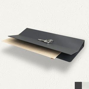 2WAY ウォールシェルフ 壁掛け棚 飾り棚 壁掛けラック 収納 V Envelope and Key Holder 耐荷重3kg レターケース 鍵 スチール製 Chihong|favoritestyle