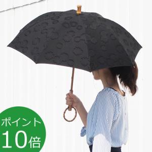 シュールメール 日傘 SUR MER ジャガード 刺繍 花柄 ブラック コットン 竹輪っか 長傘 折りたたみ傘 日本製 UVカット 紫外線防止 favoritestyle