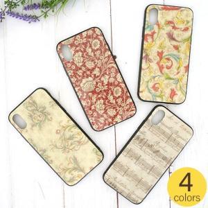 iPhoneケース iPhoneXケース スマホケース イタリア製紙 かわいい おしゃれ 女子 レディース 大人かわいい 花柄 4種類|favoritestyle
