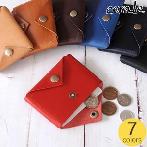 フラグメントケース 本革 革 イタリアンレザー メンズ レディース 日本製 カードケース コインケース corale コラーレ ショルダーレザー|favoritestyle
