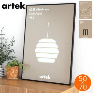 artek ポスター 50×70 cm アルテック ポスター 北欧 アイコンポスター アートポスター おしゃれ 北欧デザイン フィンランド|favoritestyle
