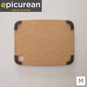 【取扱終了】エピキュリアン カッティングボード まな板 グリップ付 滑り止め付 M サイズ 薄型 木製 おしゃれ 食洗機対応 epicurean favoritestyle