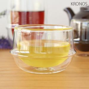 KINTO キントー クロノス KRONOS ダブルウォール ティーカップ 200ml 二重構造 グラス 耐熱ガラス|favoritestyle