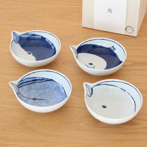波佐見焼 tori鉢 4枚セット 木箱入り 小鉢 取り鉢 取り皿 ボウル 鳥鉢 とり鉢 磁器 石丸陶芸 日本製|favoritestyle