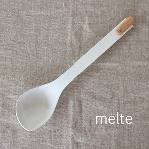 ソーススプーン 琺瑯 ホーロー 食器 カトラリー スプーン melte メルテ 高桑金属 takakuwa 日本製 カフェ おしゃれ|favoritestyle