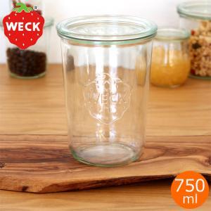 WECK キャニスター ガラスキャニスター モールドシェイプ Mold Shape 750ml ウェック 保存容器 保存瓶 WE-743|favoritestyle