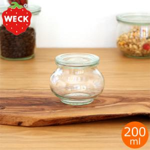 WECK キャニスター ガラスキャニスター デコシェイプ Deco Shape 200ml ウェック 保存容器 保存瓶|favoritestyle