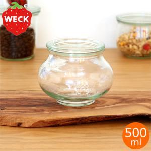 WECK キャニスター ガラスキャニスター デコシェイプ Deco Shape 500ml ウェック 保存容器 保存瓶|favoritestyle