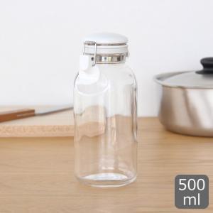 セラーメイト これは便利調味料びん 500ml 保存容器 調味料ボトル 調味料入れ 保存瓶 密封 密閉 ガラス瓶 密閉瓶 星硝 日本製|favoritestyle