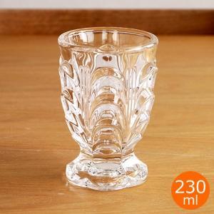 廣田硝子 昭和モダン 復刻タンブラー 380 台付き 230ml タンブラー コップ グラス ガラス ゴブレット 4M5-380|favoritestyle