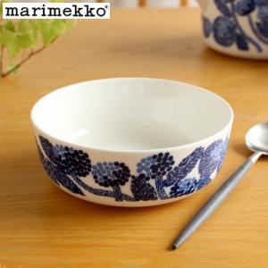 [クーポン配布中] マリメッコ ミンステリ ボウル 400ml marimekko Mynsteri 花柄 北欧 食器 深皿 スープ皿 シリアルボウル ブルー|favoritestyle