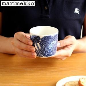 [クーポン配布中] マリメッコ ミンステリ ラテマグ 200ml marimekko Mynsteri 花柄 北欧 食器 コップ フリーカップ ブルー|favoritestyle