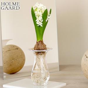 ホルムガード フラワーベース オールドイングリッシュ ヒヤシンスベース クリア ガラス H14cm 球根 水耕栽培 花瓶 花器 北欧 HOLMEGAARD|favoritestyle
