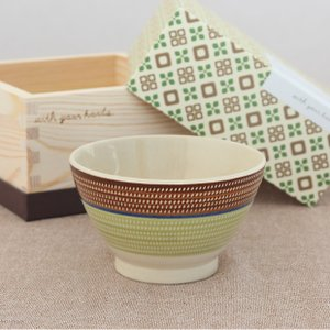波佐見焼 茶碗 ギフトボックス 入り 飯碗 カントリー MASU入り碗 陶器 石丸陶芸 ご飯茶碗 ライスボウル favoritestyle