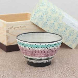 波佐見焼 茶碗 ギフトボックス 入り 飯碗 グレープ MASU入り碗 陶器 石丸陶芸 ご飯茶碗 ライスボウル favoritestyle