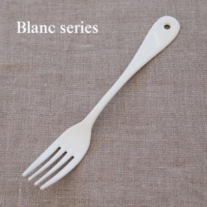 デザートフォーク ホーロー 琺瑯 カトラリー フォーク Blanc ブラン 白 高桑金属 takakuwa 日本製 食器 カフェ おしゃれ|favoritestyle