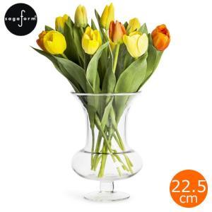 サガフォルム sagaform フラワーベース トロフィー ガラス シンプル 花瓶 おしゃれ H22.5cm 花器 クリア Trophy vase clear|favoritestyle