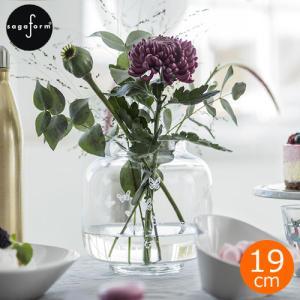 サガフォルム sagaform フラワーベース 蝶々モチーフ ガラス シンプル 花瓶 おしゃれ 一輪挿し H19cm 花器 クリア Butterfly vase|favoritestyle