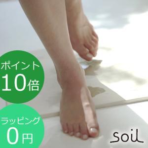 soil ソイル バスマット ライト 珪藻土 バスマット 速乾 バス用品 [ラッピング無料] BATH MAT light B246|favoritestyle