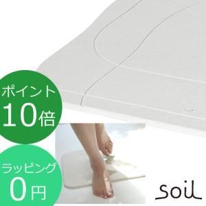 soil  ソイル バスマット アクア 珪藻土 バスマット 速乾 [ラッピング無料] BATH MAT aqua B254|favoritestyle