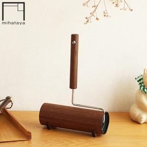 みはたや カーペットクリーナー コロコロ ハンディクリーナー ウォルナット 木製 贈り物家具 mihataya 日本製|favoritestyle