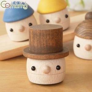こまむぐ どんぐりぱぱ 木のおもちゃ 木製 知育 玩具 日本製 おもちゃのこまーむ|favoritestyle