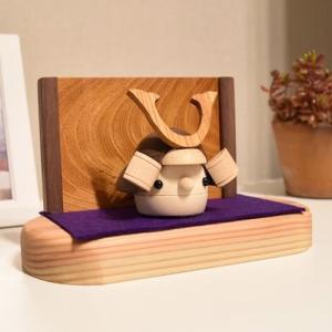 おもちゃのこまーむ どんぐり兜 五月人形 飾り 兜飾り 端午の節句 木製 日本製 限定品