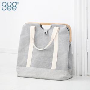 GudeeLife トートバッグ ランドリーバッグ UROKI Tote Bag Bamboo M ポリエステル コットン 竹 バンブー|favoritestyle