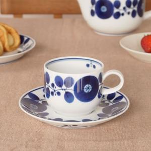 白山陶器 ブルーム コーヒーカップ&ソーサー BLOOM 波佐見焼 HAKUSAN HKSN-BLM-CS01 favoritestyle
