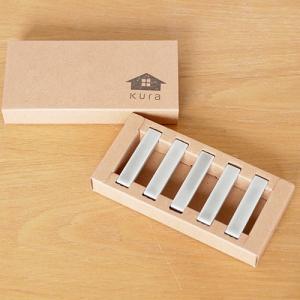 KURA Kobi 箸置き 5本セット chopstick Rest Cool Grey Matt 日本製 ギフト シンプル|favoritestyle