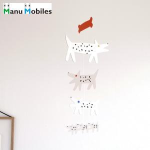 モビール モビールいぬ マニュモビールズ Dogs 子供部屋 男の子 女の子 子供 赤ちゃん 犬 日本製 Manu Mobiles|favoritestyle